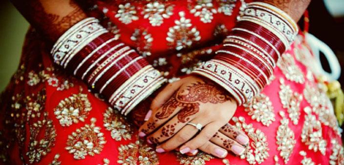 新婚さんのバングル